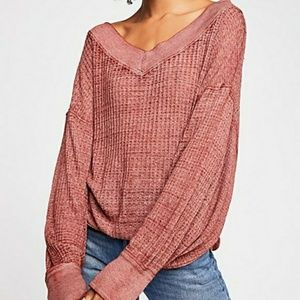 NWT Free People South Side Thermal